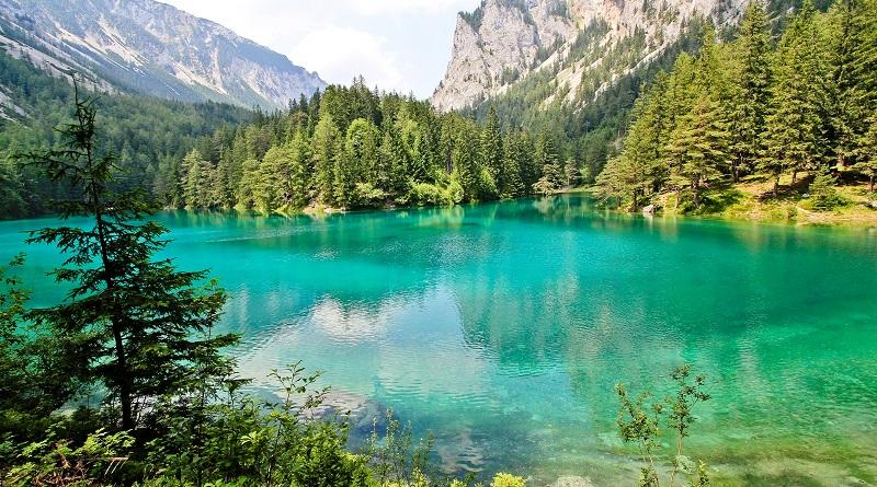 A Zöld-tó Ausztria egyik legszebb helye