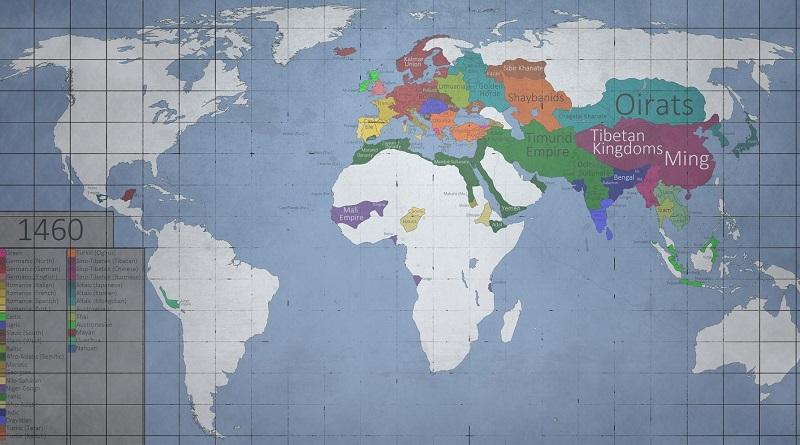 A világ történelme videón